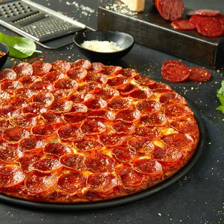 $29.99 for 3 Med. single top pizzas